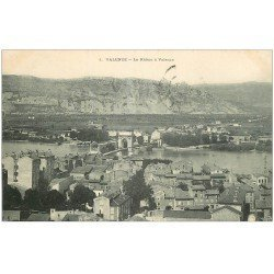 carte postale ancienne 26 VALENCE. Le Rhône 1906