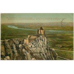 carte postale ancienne 26 VALENCE. Ruines du Château Crussol