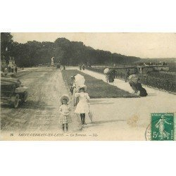 carte postale ancienne Lot de 19 CPA SAINT-GERMAIN-EN-LAYE 78. Série E