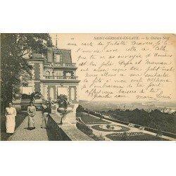 carte postale ancienne 78 SAINT-GERMAIN-EN-LAYE. Le Château Neuf