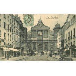 carte postale ancienne Lot de 22 CPA diverses sur VERSAILLES 78. Série C