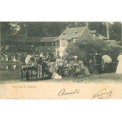 carte postale ancienne 78 VERSAILLES. Une Fête à Trianon 1903