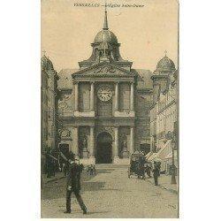 carte postale ancienne 78 VERSAILLES. Eglise Notre-Dame