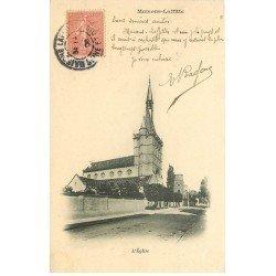 carte postale ancienne 78 MAISONS-LAFFITTE. L'Eglise 1906