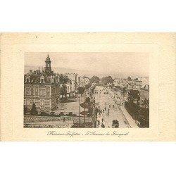 carte postale ancienne 78 MAISONS-LAFFITTE. Avenue de Longueil