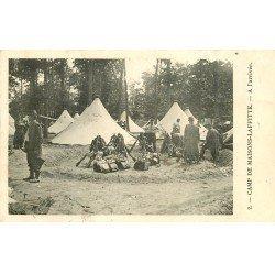 carte postale ancienne 78 MAISONS-LAFFITTE. A l'Arrivée au Camp. Maggi