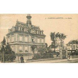 carte postale ancienne 78 MAISONS-LAFFITTE. La Mairie 1925