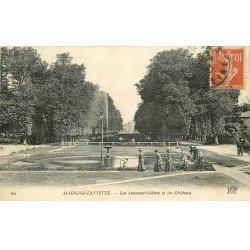 carte postale ancienne 78 MAISONS-LAFFITTE. Château Avenue albine 1921