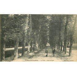carte postale ancienne 78 MAISONS-LAFFITTE. Parc Avenue Eglé 1915 Tampon Médecin de l'Armée