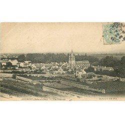 carte postale ancienne 78 ANDRESY. Vue générale vers 1907