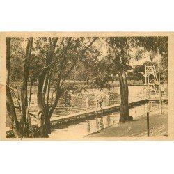 carte postale ancienne 78 ANDRESY. Petit Bain club Nautique 1936