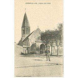 carte postale ancienne 78 ACHERES. L'Eglise