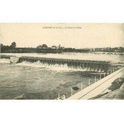 carte postale ancienne 78 ACHERES. Seine et Oise