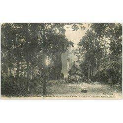 carte postale ancienne 02 FERE-EN-TARDENOIS. Ruines Vieux Château Salle d'Armes