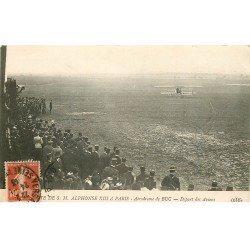 carte postale ancienne 78 BUC. Aérodrome départ des Avions 1913