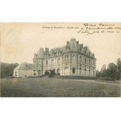 carte postale ancienne 78 BONNELLES. Le Château 1917
