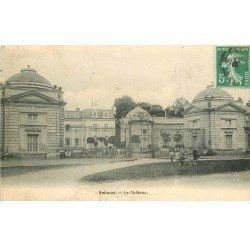 carte postale ancienne 78 BEHOUST. Le Château belle animation 1909
