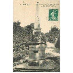 carte postale ancienne 78 BOUGIVAL. Monument aux Fusillés par les Prussiens