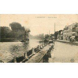 carte postale ancienne 78 BOUGIVAL. Bords de Seine