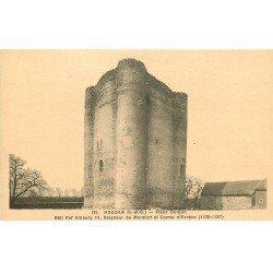 carte postale ancienne 78 HOUDAN. Vieux Donjon