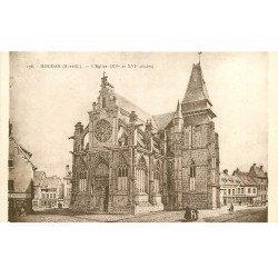 carte postale ancienne 78 HOUDAN. L'Eglise au XVI siècle