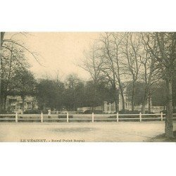 carte postale ancienne 78 LE VESINET. Rond Point Royal 1918