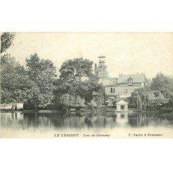 carte postale ancienne 78 LE VESINET. Lac de Croissy 1906