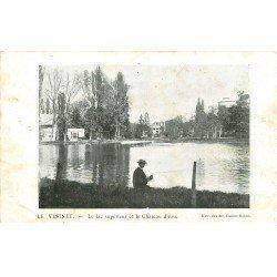 carte postale ancienne 78 LE VESINET. Lac et Château d'Eeau