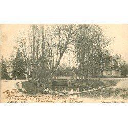 carte postale ancienne 78 LE VESINET. Le Gué 1903