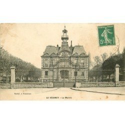 carte postale ancienne 78 LE VESINET. La Mairie
