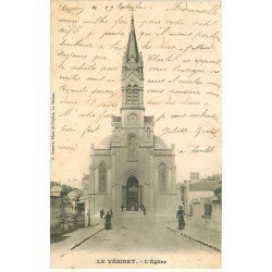 carte postale ancienne 78 LE VESINET. L'Eglise 1903