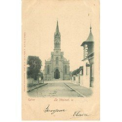 carte postale ancienne 78 LE VESINET. L'Eglise 1902