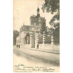 carte postale ancienne 78 LE VESINET. Villa Hériot 1904