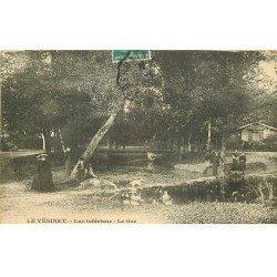 carte postale ancienne 78 LE VESINET. Gué du Lac 1910