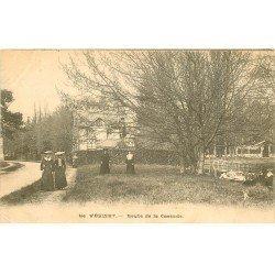 carte postale ancienne 78 LE VESINET. Route de la Cascade 1904
