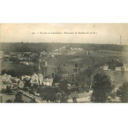 carte postale ancienne 78 CHEVREUSE. Panorama de Senlisse