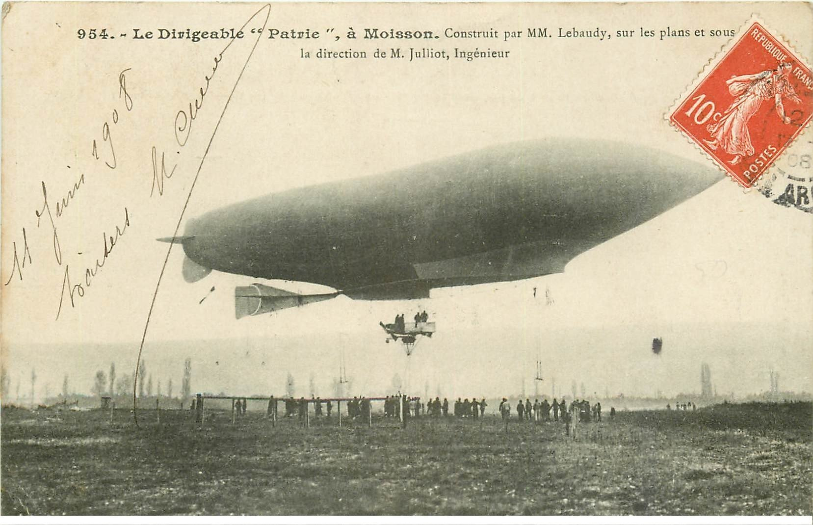 ballon dirigeable patrie