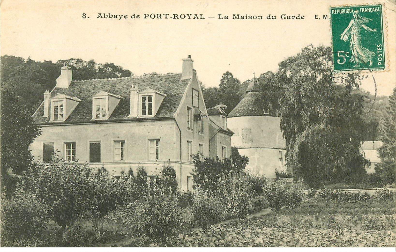 78 port royal des champs maison du garde 1910 for Ancienne maison des gardes lourmarin france