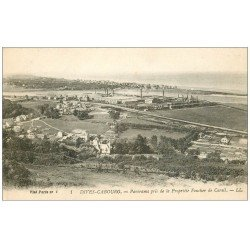 carte postale ancienne 14 DIVES CABOURG. Panorama pris de Foucher de Careil