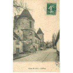 carte postale ancienne 78 POISSY. L'Abbaye 1909