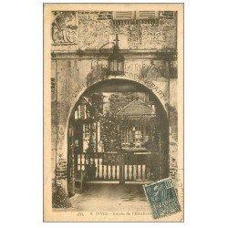 carte postale ancienne 14 DIVES. Hostellerie Entrée 1931
