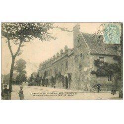 carte postale ancienne 14 DIVES. Hostellerie Guillaume le Conquérant 1906