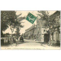 carte postale ancienne 14 DIVES. Hostellerie Guillaume Rue Hasting