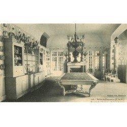 carte postale ancienne 78 VALLEE DE CHEVREUSE. Manoir du Claireau Salle à manger