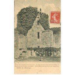 carte postale ancienne 78 VALLEE DE CHEVREUSE. Madelaine Tour Ronde des Gardes animation