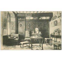 carte postale ancienne 14 DIVES. Hostellerie Salon Madame de Sévigné