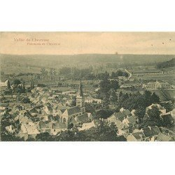 carte postale ancienne 78 VALLEE CHEVREUSE. Panorama