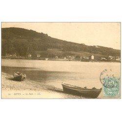 carte postale ancienne 14 DIVES. Le Port 1905