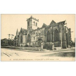 carte postale ancienne 14 DIVES. L'Eglise 16