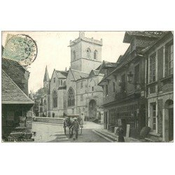 carte postale ancienne 14 DIVES. L'Eglise 1906